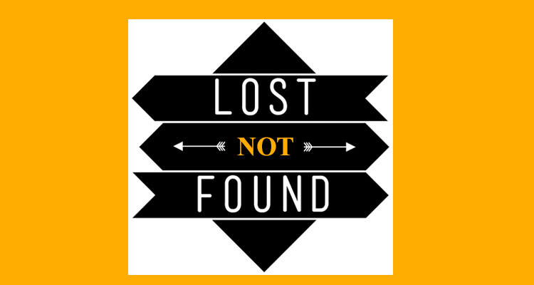 Lost Not Found